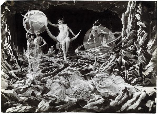 scenografia Méliès