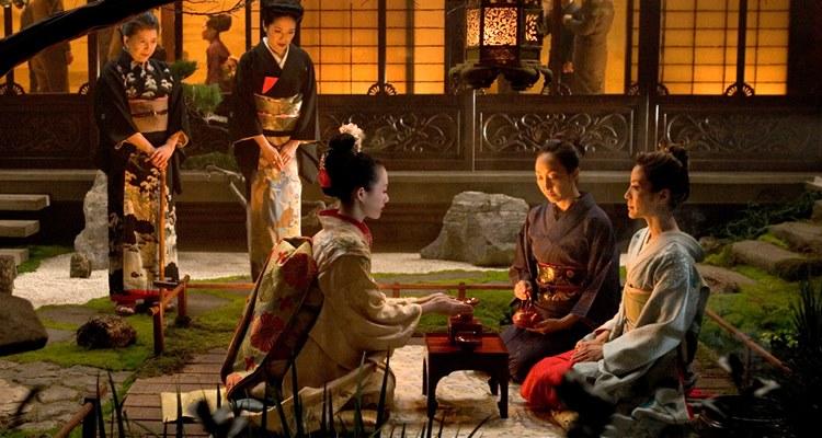 scenografia memorie di una geisha