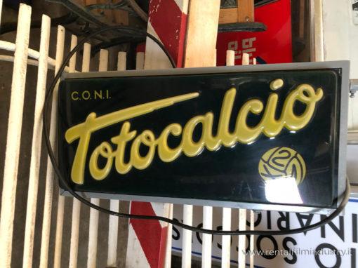 Insegna Totocalcio