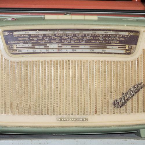 Noleggio radio telefunken bajazzo