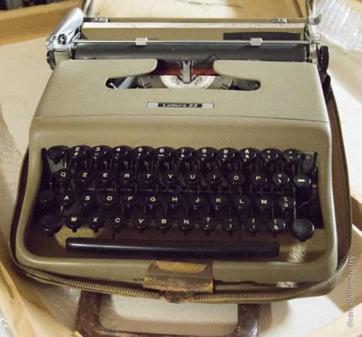 Noleggio macchina da scrivere vintage Lettera 22