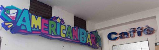 Noleggio Insegna bar al neon