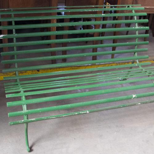 Noleggio panchina esterno verde