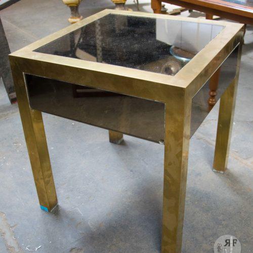 Noleggio tavolini quadrato vetro