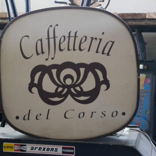Noleggio insegna caffetteria