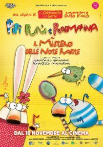 Film programmazione cinema Pipì, Pupù, Rosmarina in Il Mistero delle note rapite