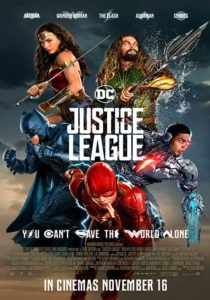 Film in programmazione cinema JUSTICE LEAGUE