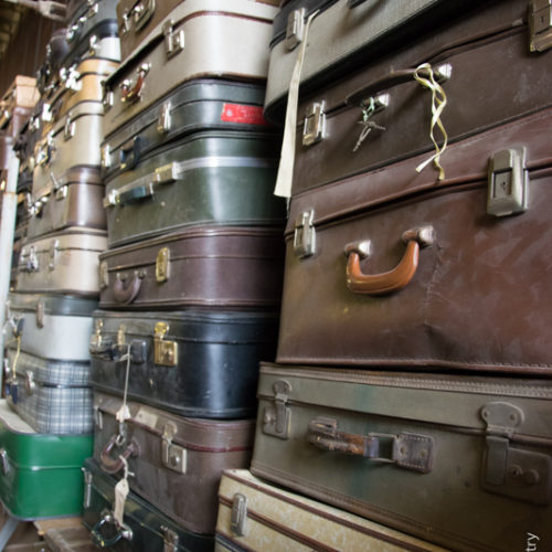 Noleggio valigie vintage
