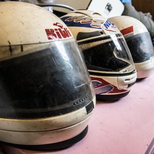 Noleggio casco moto integrale