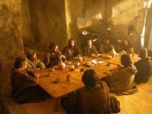 Ultima cena al complesso rupestre della Madonna delle Virtù e di San Nicola dei Greci