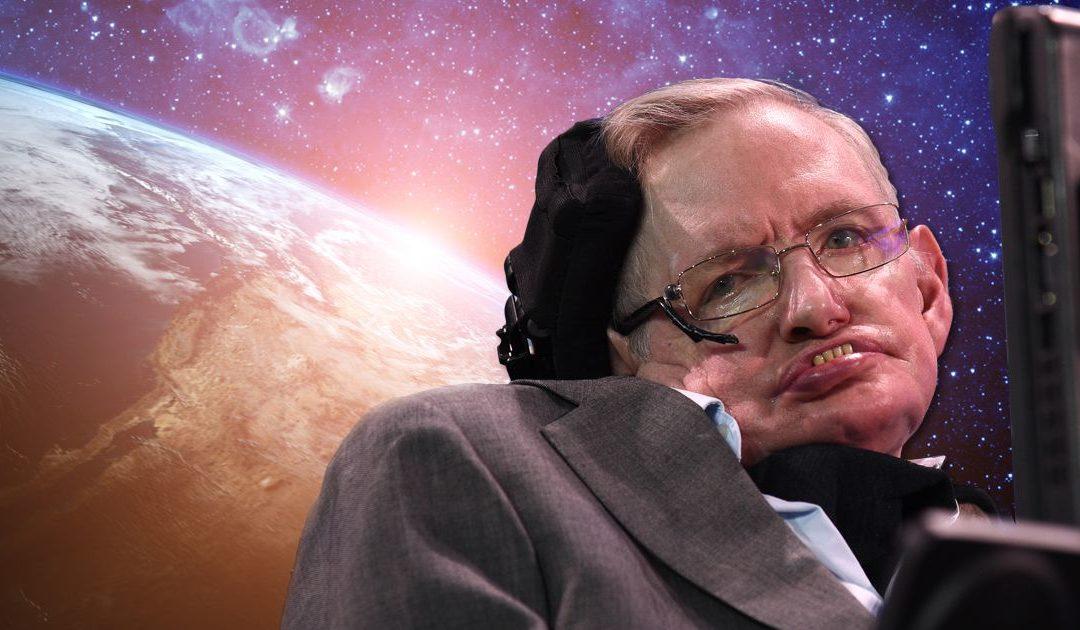 Omaggio al genio Stephen Hawking