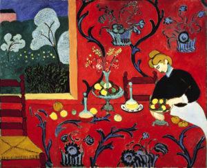 Armonia in Rosso, dipinto di Henri Matisse