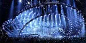 Scenografia per l'Eurovision 2018