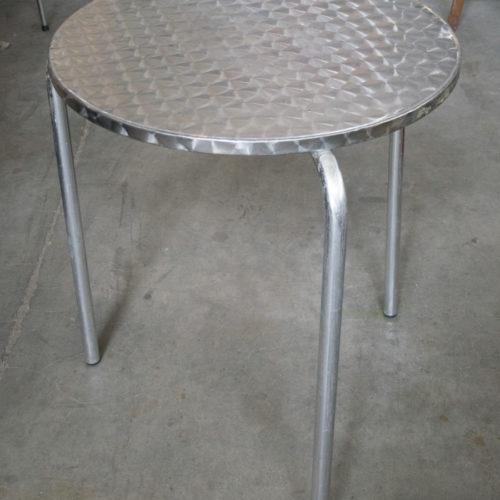 Tavolo bar in acciaio