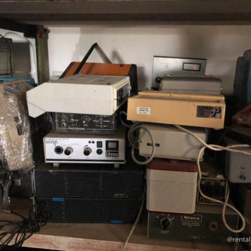 Apparecchiature elettroniche varie anni '80