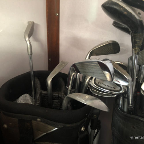 Mazze da golf varie