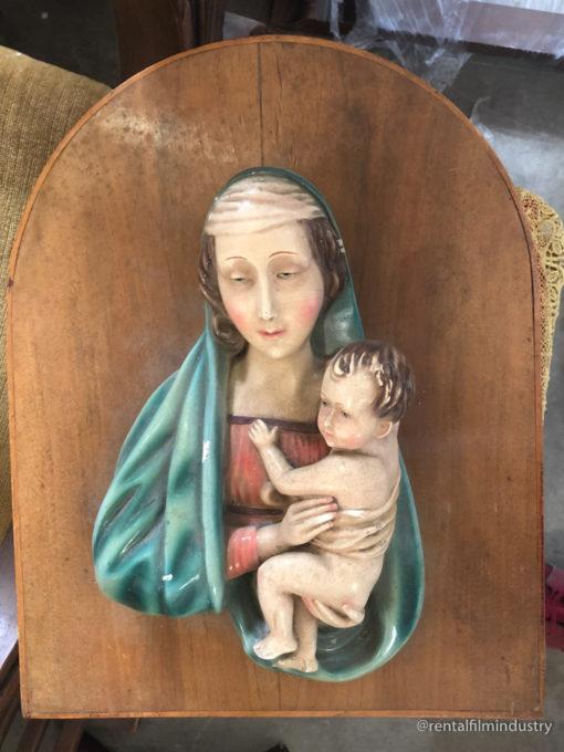 Iconografia religiosa con la Madonna