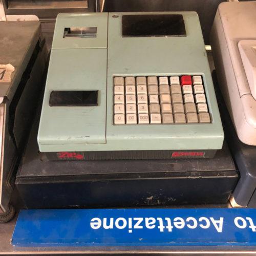 Registratore di cassa anni '80