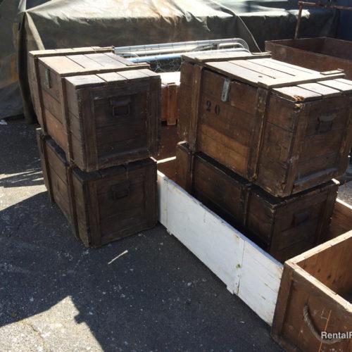 Casse in legno da trasporto