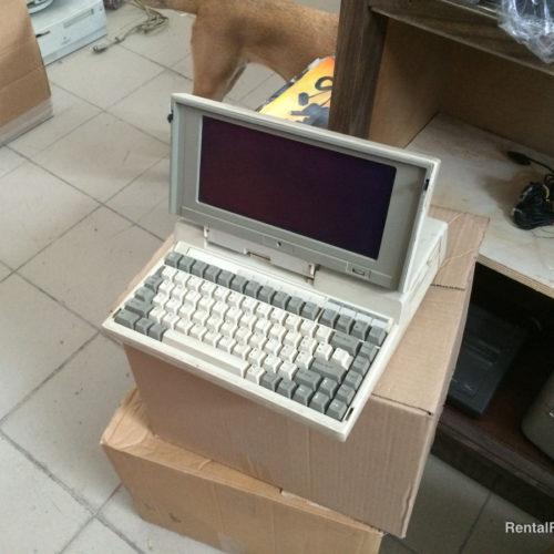 Computer portatili anni '80-'90 bianco