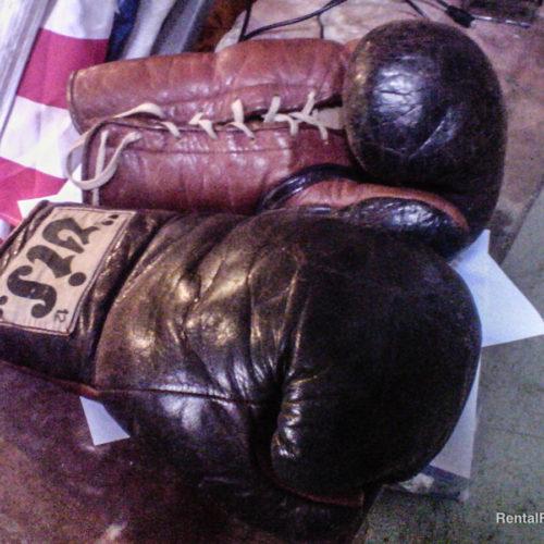 Guantoni da boxe vintage