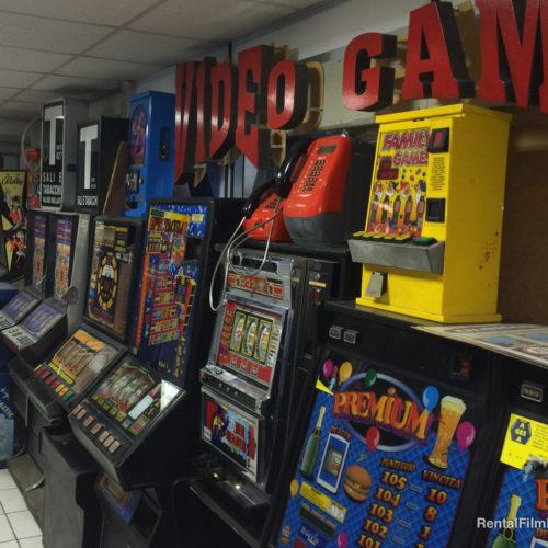 Ambiente sala giochi vari
