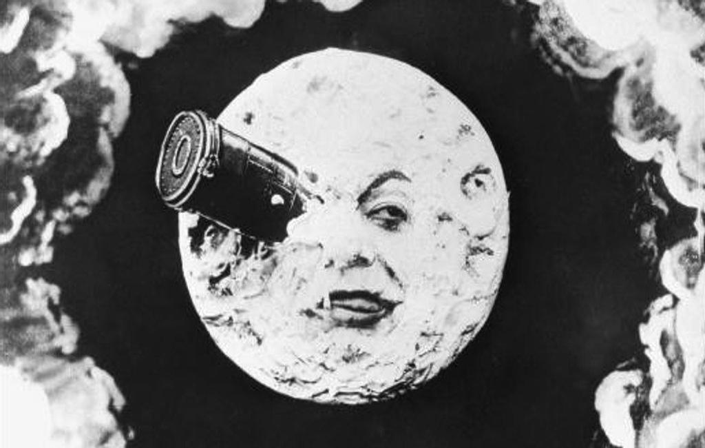 Viaggio nella Luna, la prima scenografia di fantascienza