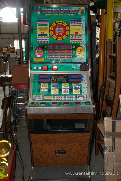 Slot machine anni '80 fronte