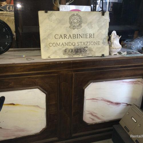Targhe comando carabinieri