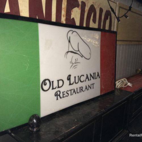 Insegna ristorante italiano moderna