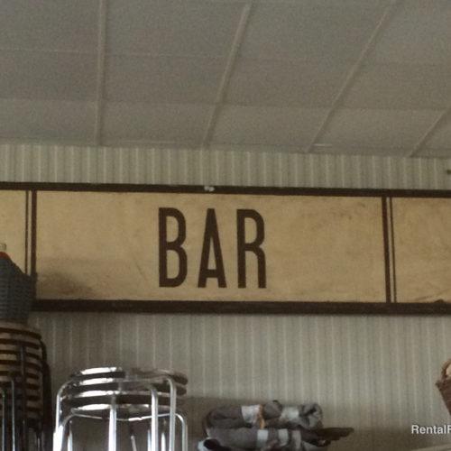 Insegna da bar vintage