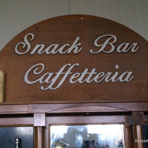 Insegna da caffetteria vintage
