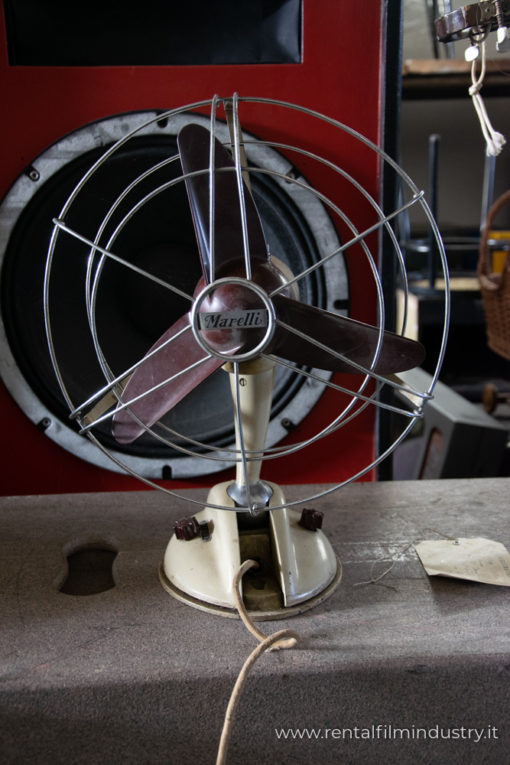 Ventilatore vintage anni '50 fronte