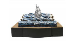 La macchina del mare in mostra a Scenamadre