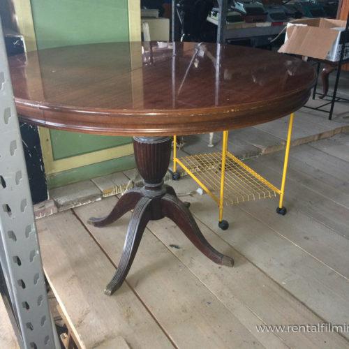 Tavolo tondo estendibile da salotto