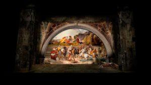 Scenografie di Attila di Giuseppe Verdi al Teatro alla Scala