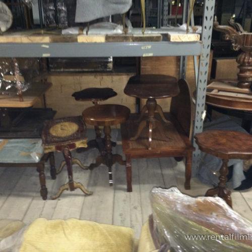 Tavolini vari da salotto in legno
