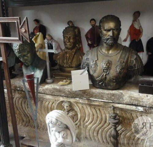 busto in bronzo