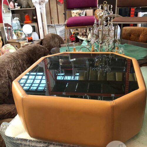 tavolino in vetro vintage