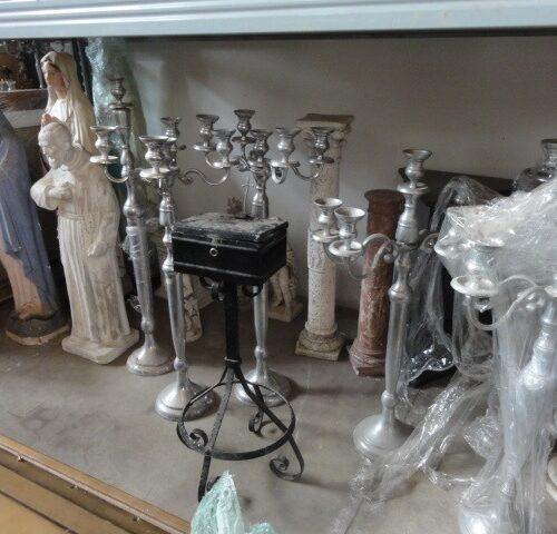 candelabri argento