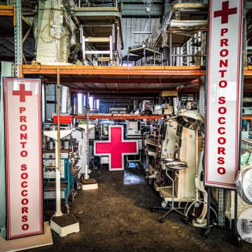 Pronto soccorso per scenografie ospedale