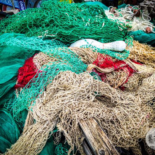reti da pesca e corde