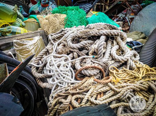 Corde e reti da pesca